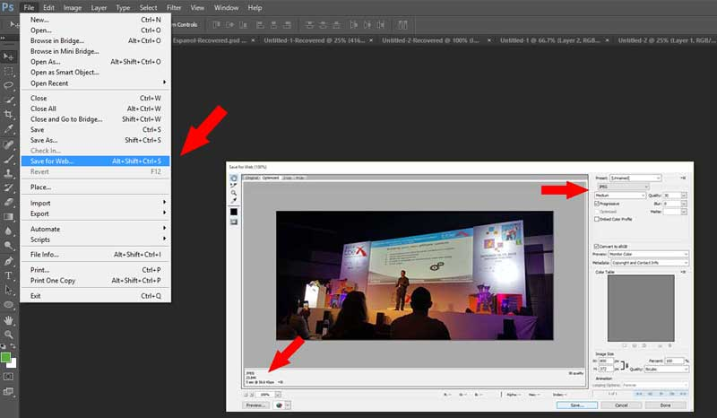 Photoshop-save-for-web-sample